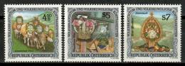 Austria 1991 / Folk MNH Folklore / Kl09  1-11 - Otros