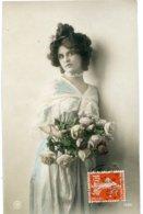 CPA  FEMME Belle Coiffure 1910 - Women