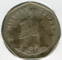 Ile De Man Isle 50 Pence 2004 AA UNC KM 1258 - Monedas Regionales