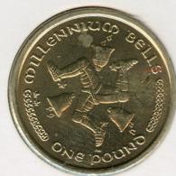 Ile De Man Isle 1 Pound 2002 AA UNC KM 1042 - Monedas Regionales