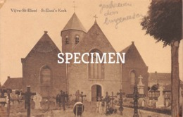 St-Elooi's Kerk - Sint-Eloois-Vijve Geschreven Door Burgemeester - Waregem