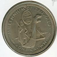 Ile De Man Isle 1 Crown 1979 UNC Tynwald KM 46 - Monedas Regionales