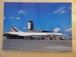 AEROPORT / AIRPORT / FLUGHAFEN   BASLE MULHOUSE  CONCORDE AIR FRANCE - Aerodromes