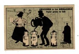 DUROYON ET RAMETTE   Femme Et Pots à Lait, Fontaine    10.8 X 6.9 Cm - Duroyon & Ramette