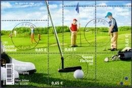 Finland 2005 Blok Golf GB-USED - Finland