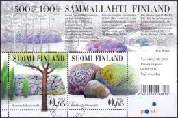 Finland 2004 Blok Stenen GB-USED - Finland