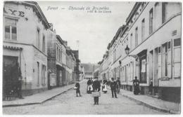 Forest Café De L' Abbaye Chaussée De Bruxelles Edit E. De Clerck - Forest - Vorst