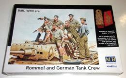 "Maquette ""Rommel And German Tank Crew - Rommel Et Équipage Allemand""- Masterbox - Beeldjes"