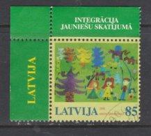 LETONIA, USED STAMP, OBLITERÉ, SELLO USADO, EUROPA CEPT - 2006