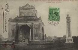 ANNAM Hué Arc De Triomhe Au Tombeau De Tu Duc (Regne De 1847 à 1883) + Beau Timbre 5 Indochine RV - Viêt-Nam