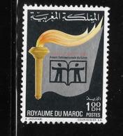 Morocco 1972 International Book Year MNH - Morocco (1956-...)