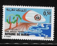 Morocco 1972 UN Conference On Human Environment Stockholm MNH - Morocco (1956-...)