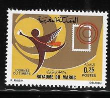 Morocco 1973 Stamp Day MNH - Morocco (1956-...)