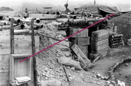 Photo  Guerre Indochine  Diên Biên Phu Camp Retranche - Army & War