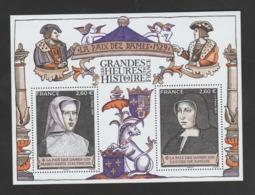 FRANCE / 2019 / Y&T N° 5369/5370 ? ** En BF Ou F5369 ? (Bloc Histoire De France : La Paix Des Dames) X 1 - Blocs & Feuillets