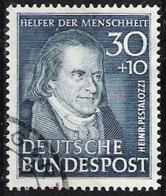 "Allemagne Germany BRD 1951: ""Johann Heinrich Pestalozzi"" Michel-No.146 Mit Eck-stempel (Michel 120.00 Euro) - Kind & Jugend"