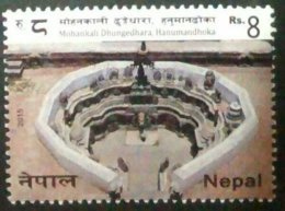 098.NEPAL 2015 STAMP MOHANKALI DHUNGEDHARA , HANUMANDOKHA .MNH - Nepal