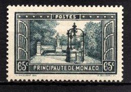 MONACO 1933 / 1937 -  Y.T. N° 124  -  NEUF** /4 - Unused Stamps