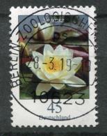 "Germany 2017 Mi.Nr.3303 Bogenmarke ""Freimarke,Blumen-Weise Seerose (Nymphaea Alba  ""1 Wert Used - Rosen"