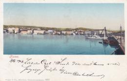 Rijeka (Fiume) * Hafen, Schiffe, Strand, Panorama * Kroatien * AK1994 - Kroatië