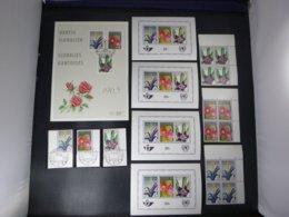 "BELG.1965 1315-1317 FDC Philacard & Blocs** & Timbres** & Firstday MNH : ""  Floralies / Floralién   "" - FDC"