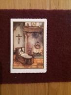 (V) Faire- Part De Baptême Portrait à L'intérieur. (Anton Pieck) Imprimé En Hollande . - Geburt & Taufe