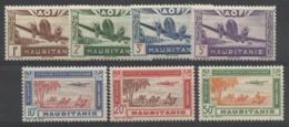 MAURITANIE 1942 YT PA 11/17** MNH - Mauritanien (1906-1944)