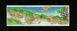 Kinder Ferrero BPZ - Cartina  K 02 - 117 - 118 - 119 - 120 - Istruzioni