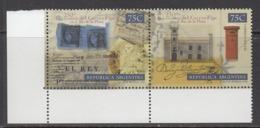 1998 Argentina Postal System Mailbox Complete Pair  MNH - Ungebraucht