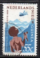 XP399 - NUOVA GUINEA 1959 , Yvert N. 51 Usato  (2380A) - Nuova Guinea Olandese
