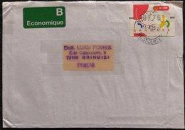 1995 Danmark - Frama 07.75 - Used Stamp On Ecomonique Cover - Danimarca