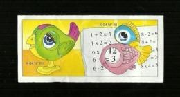 Kinder Ferrero BPZ - Cartina  K 04 - 89 - Handleidingen