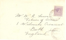 Bahamas - Green Turtle Cay - Letter - Stamps