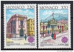 Monaco - 1990 - Yvert N° 1724 & 1725 ** - Europa - Nuovi
