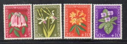XP473 - NUOVA GUINEA 1959 , Yvert N. 52/55 *  Linguellata  (2380A) - Nuova Guinea Olandese