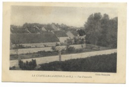77-LA CHAPELLE-LA-REINE-Vue D'ensemble... 1918 - La Chapelle La Reine