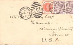 GB -UK - Letter - Shepton Mallet - (701) - Sellos