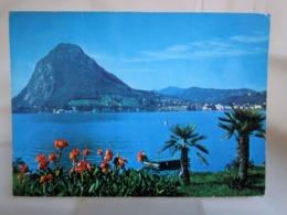 Lugano  Monte S. Salvatore  SVIZZERA Cartolina   Viaggiata - TI Ticino