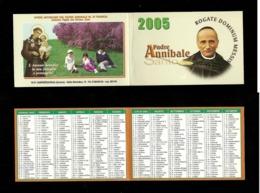 Calendarietto Sacro 2005 - Santo Padre Annibale M. Di Francia - Kalenders