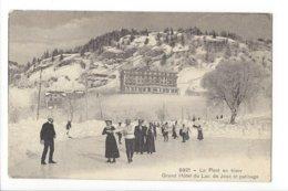 23625 - Vallée De Joux Le Pont En Hiver Grand Hôtel Du Lac De Joux Et Patinage - VD Waadt
