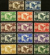 NOUVELLE CALEDONIE - YT 230 à 243 ** - SERIE COMPLETE DE 14 TIMBRES NEUFS ** - New Caledonia