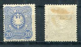 Deutsches Reich Michel-Nr. 42c Ungebraucht - Geprüft - Deutschland