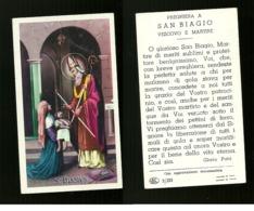 Santino - S. Biagio Vescovo E Martire - Santini