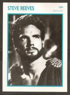 PORTRAIT DE STAR 1960 ÉTATS UNIS USA - ACTEUR STEVE REEVES - UNITED STATES USA ACTOR CINEMA FILM PHOTO - Foto