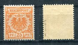 D. Reich Michel-Nr. 49b Postfrisch - Geprüft - Deutschland