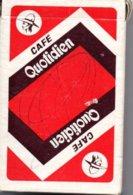 Café Quotidien  Jeu De 32 Cartes A Jouer Publicitaire - Playing Card - 32 Cards