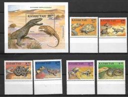 Kazakhstan 1994 Reptiles  MNH - Reptiles & Amphibians