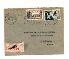 Lettre Recommandée Vanves Sur Avion Nancy - Postmark Collection (Covers)