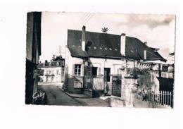 """37- LIGUEIL. La Seigneurerie, Actuellement Hôtel De Ville. """"seigneurie"""".  Café SANKA. 2 SCANS - Francia"""