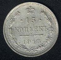Russland, 15 Kopeks 1915, Silber - Russland